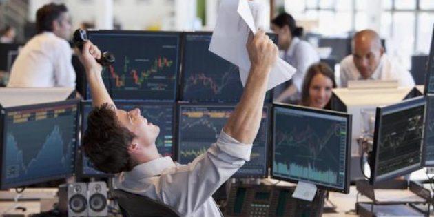 Qu'est ce qu'un trader ? Trader heureux qui à gagné